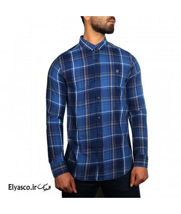 پیراهن مردانه چهارخانه طرح جین کوک 1545